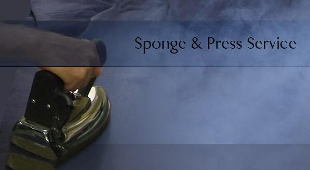 bespoke suit sponge and press service in savile row