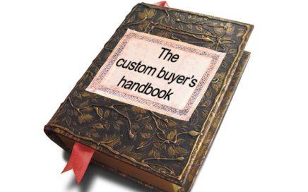 custom buyers handbook